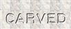 Font Plastique Carved Logo Preview