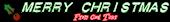 Font Plastique Christmas Symbol Logo Preview