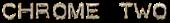 Font Plastique Chrome Two Logo Preview