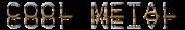 Font Plastique Cool Metal Logo Preview