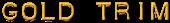 Font Plastique Gold Trim Logo Preview