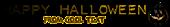 Font Plastique Halloween Symbol Logo Preview