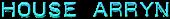 Font Plastique House Arryn Logo Preview