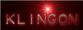 Font Plastique Klingon Logo Preview