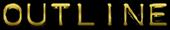 Font Plastique Outline Logo Preview