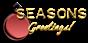 Font Plastique Seasons Greetings Logo Preview