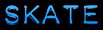 Font Plastique Skate Logo Preview
