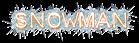 Font Plastique Snowman Logo Preview