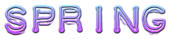 Font Plastique Spring Logo Preview
