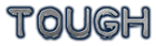 Font Plastique Tough Logo Preview