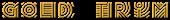Font Radio Gold Trim Logo Preview