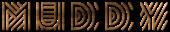 Font Radio Muddy Logo Preview