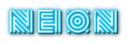 Font Radio Neon Logo Preview