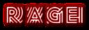 Font Radio Rage Logo Preview