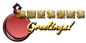 Font Radio Seasons Greetings Logo Preview