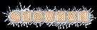 Font Radio Snowman Logo Preview