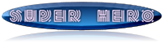 Font Radio Super Hero Button Logo Preview