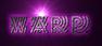 Font Radio Warp Logo Preview