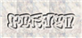 Font RoteFlora Carved Logo Preview