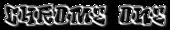 Font RoteFlora Chrome One Logo Preview