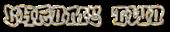 Font RoteFlora Chrome Two Logo Preview