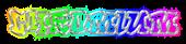 Font RoteFlora Chromium Logo Preview