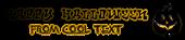 Font RoteFlora Halloween Symbol Logo Preview
