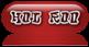 Font RoteFlora Hot Rod Button Logo Preview