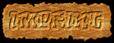 Font RoteFlora Imprint Logo Preview