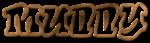 Font RoteFlora Muddy Logo Preview