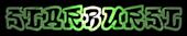 Font RoteFlora Starburst Logo Preview