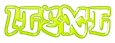 Font RoteFlora iText Logo Preview