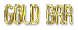 Font Slimania Gold Bar Logo Preview