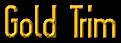 Font Slimania Gold Trim Logo Preview