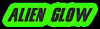 Font Snickers Alien Glow Logo Preview