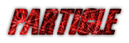 Font Snickers Particle Logo Preview