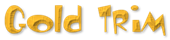 Font Toontime Gold Trim Logo Preview