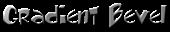 Font Toontime Gradient Bevel Logo Preview