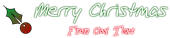 Font TupacHand Christmas Symbol Logo Preview