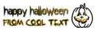 Font Under Halloween Symbol Logo Preview
