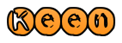 Font Xeroprint Keen Logo Preview