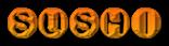 Font Xeroprint Sushi Logo Preview