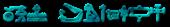 Font Yiroglyphics 3D Outline Textured Logo Preview