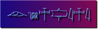 Font Yiroglyphics Blended Logo Preview