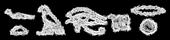Font Yiroglyphics Chalk Logo Preview