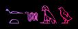 Font Yiroglyphics Club Logo Preview