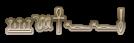 Font Yiroglyphics Glossy Logo Preview