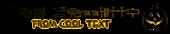 Font Yiroglyphics Halloween Symbol Logo Preview