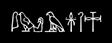 Font Yiroglyphics White Logo Preview