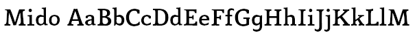 Mido Font